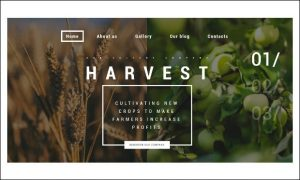 Harvest - WordPress Responsive Agriculture Themes