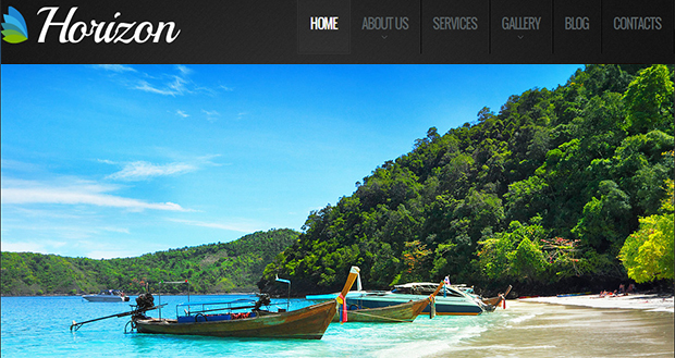 Horizon - WordPress Responsive Travel Theme