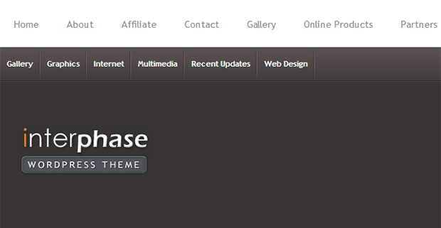 Interphase WordPress Responsive Theme