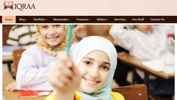 Islamic Arabic Responsive Theme