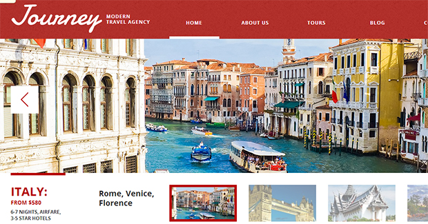 Journey - WordPress Responsive Travel Theme
