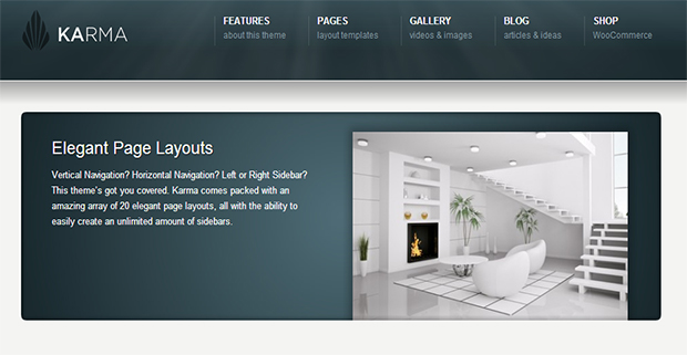 Karma WordPress Responsive Theme