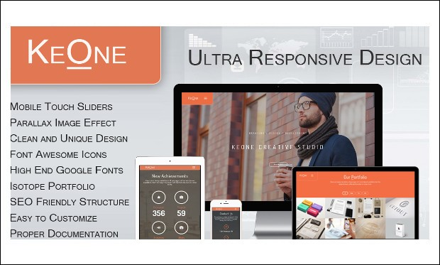 KeOne - Arabic WordPress Themes