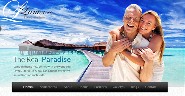 Lamoon - WordPress Responsive Travel Theme