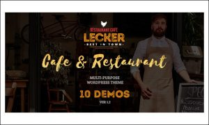 Lecker - Cafeteria WordPress Responsive Themes