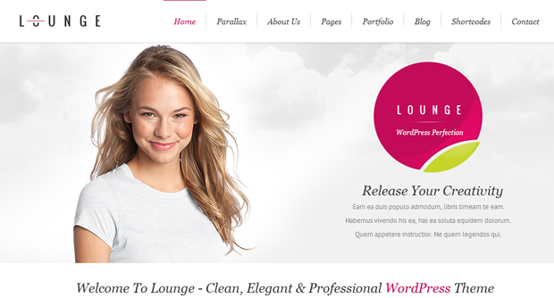 Lounge - Responsive Animated Theme
