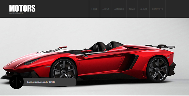 Motors - WordPress Responsive Automotive & Automobile Theme