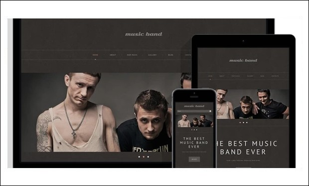 Music Band - Band WordPress Themes
