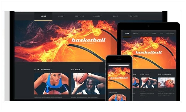NBA Mentor - Basketball WordPress Responsive Themes