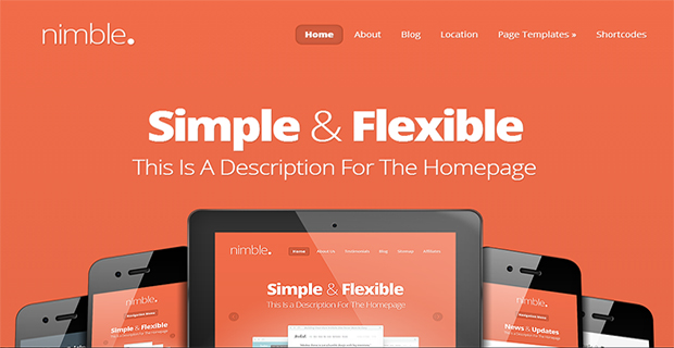 Nimble WordPress Responsive Themes