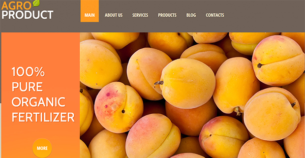 Orange Agriculture - WordPress Responsive Agriculture Theme