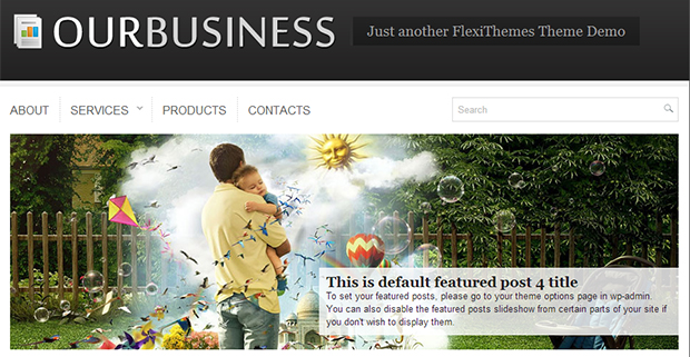 Our Business Insurance Agency Theme