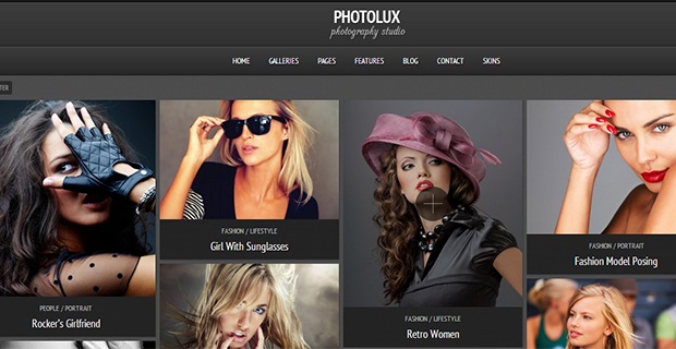 Photolux  - WordPress Responsive Gallery Theme