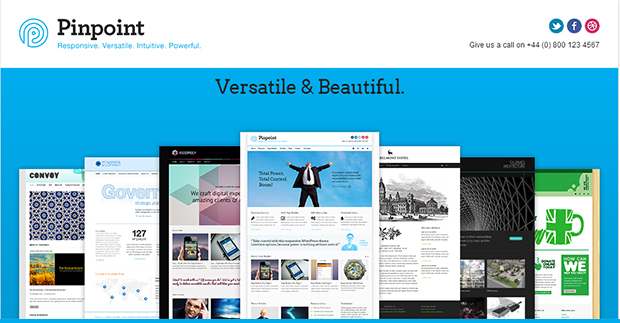 PinPoint - WordPress Responsive Theme