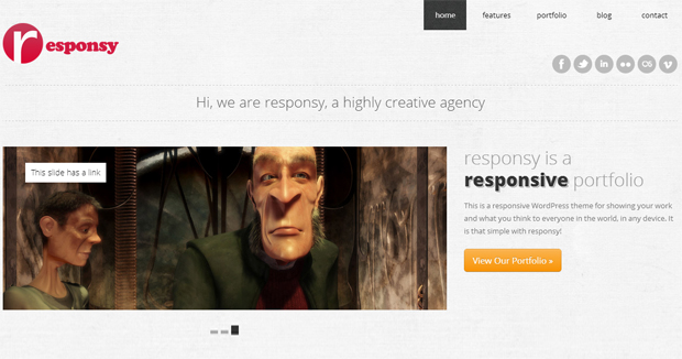 Responsy - Responsive Animated Theme