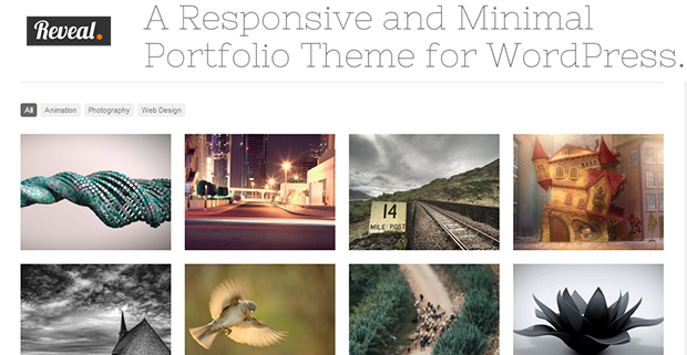Reveal - WordPress Responsive Gallery Theme