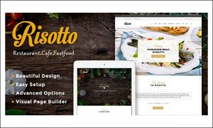 Risotto - Cafeteria WordPress Responsive Themes