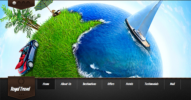 Royal Travel - WordPress Responsive Travel Theme