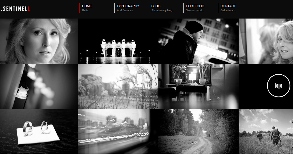 Sentinell - Responsive Animated Theme