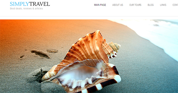SimplyTravel - WordPress Responsive Travel Theme