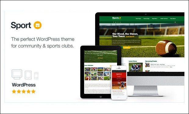Sport - Basketball WordPress Responsive Themes