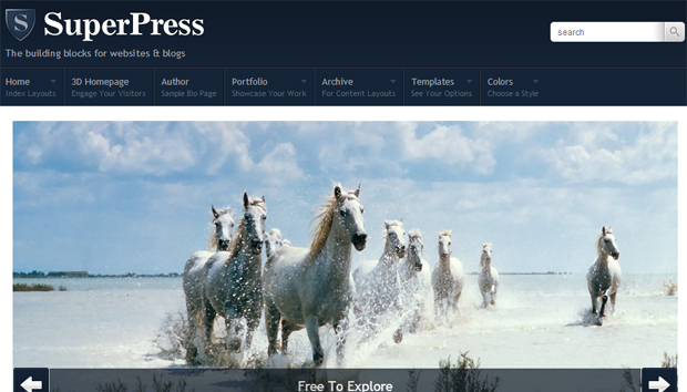 SuperPress Responsive Theme