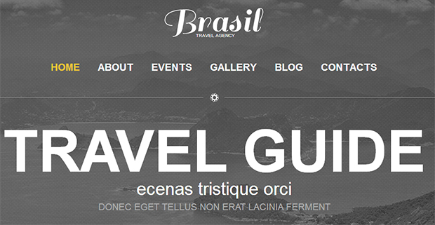 Travel Guide - WordPress Responsive Travel Theme