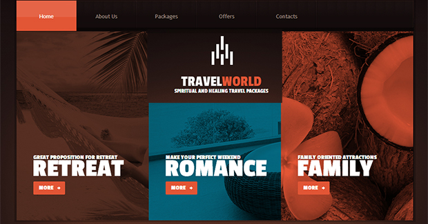 TravelWorld - WordPress Responsive Travel Theme