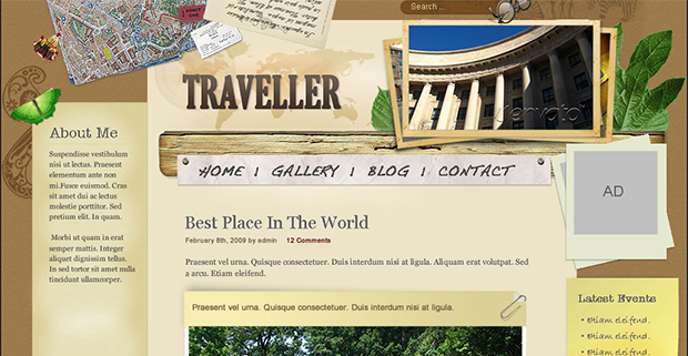 Traveller - WordPress Responsive Travel Theme