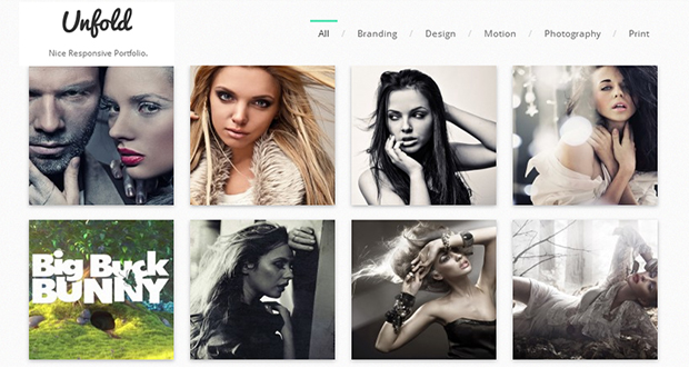 Unfold WordPress Theme