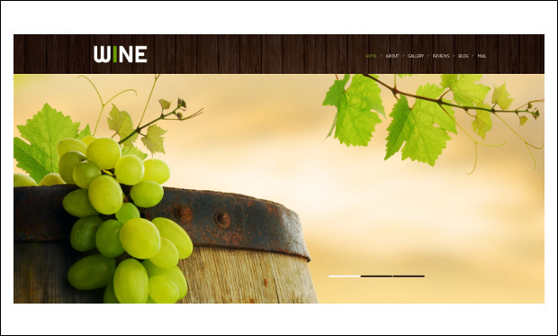 Wine - Beautiful Bar WordPress Themes