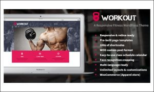 Workout - Energy - Gym WordPress Themes