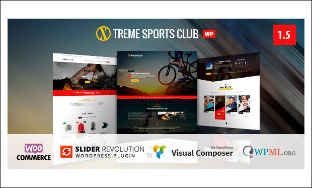Xtreme Sports - Basketball WordPress Responsive Themes