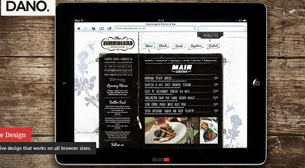 dano - WordPress Responsive Theme
