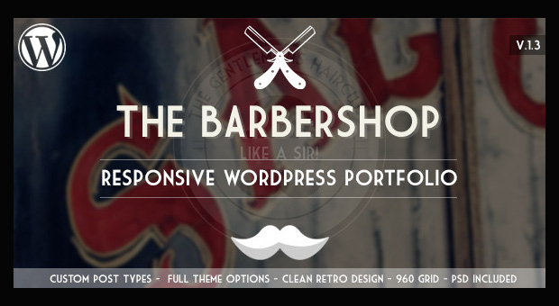 Barbershop - Barbershop WordPress Responsive Template