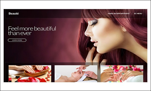 Beaute - Nail Salon WordPress Responsive Themes