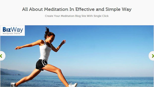 Bizway - Yoga WordPress Theme