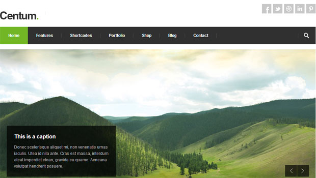 Centum - Tourism WordPress Responsive Theme