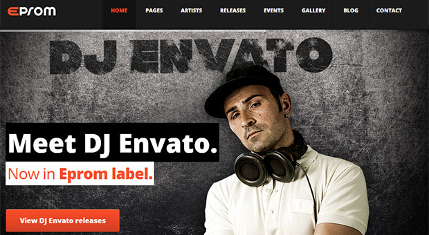 Eprom - Mobile DJ Responsive WordPress Theme