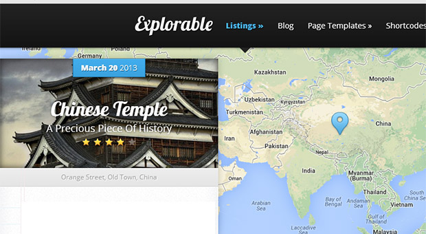 Explorable - Tourism WordPress Responsive Theme