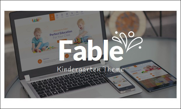 Fable - WordPress Themes for Primary School Websites