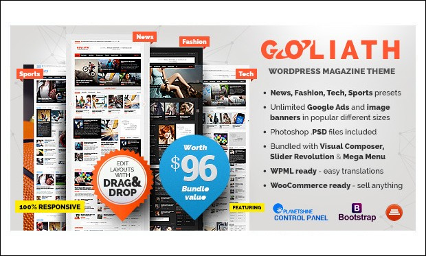 GOLIATH -WordPress Themes for SEO Affiliates