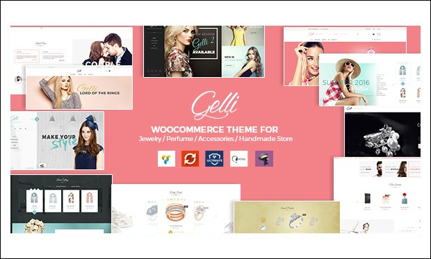 Gelli - Jewelry WordPress Responsive Themes