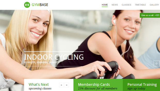 GymBase - Yoga WordPress Theme