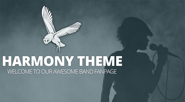 Harmony - Music Community Theme