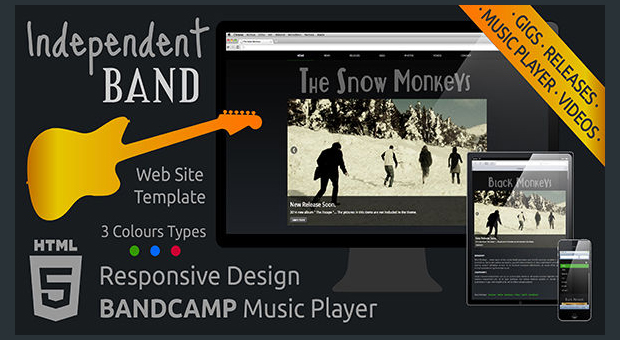 Independent Band - Music Community Theme