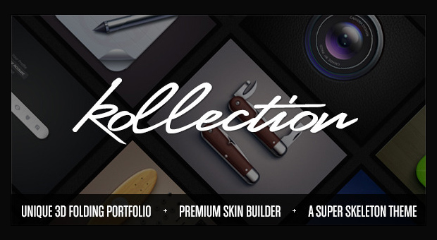 Kollection - Resume Style WordPress Responsive Theme
