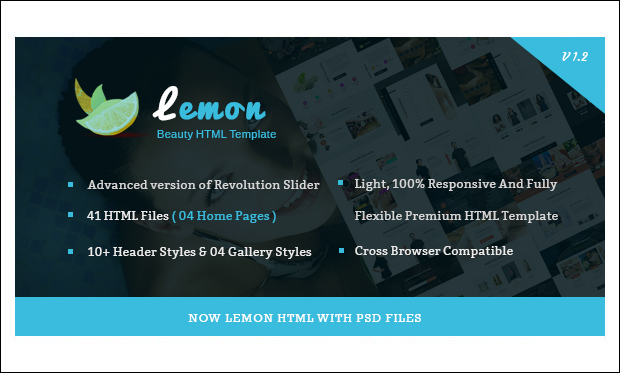 Lemon - Nail Salon WordPress Responsive Themes