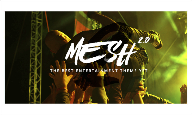 MESH - Music Community WordPress Themes