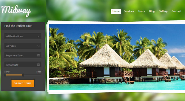 Midway - Tourism WordPress Responsive Theme
